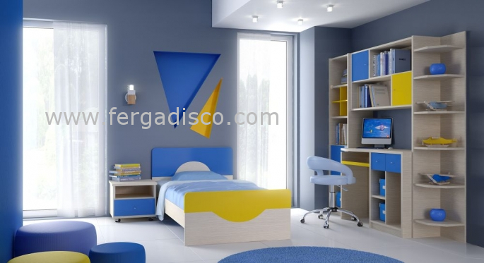 81b9b13e434 Παιδικό κρεβάτι Αμοργός-1 | Fergadis Casa - ΕΠΙΠΛΟ - ΣΤΡΩΜΑ - Από 1967
